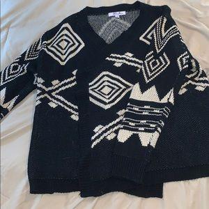 Sweaters - Aztec design sweater